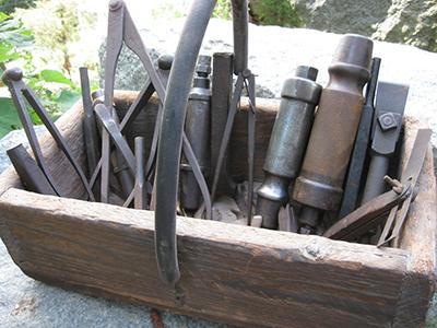 granite stone workers tools
